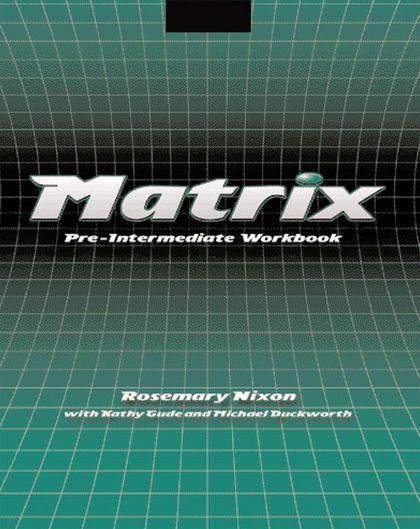 MATRIX PRE INTERMEDIATE WB