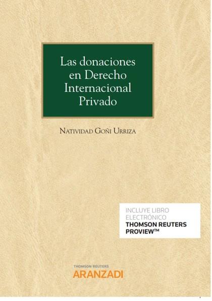 DONACIONES EN DERECHO INTERNACIONAL PRIVADO, LAS (DÚO).