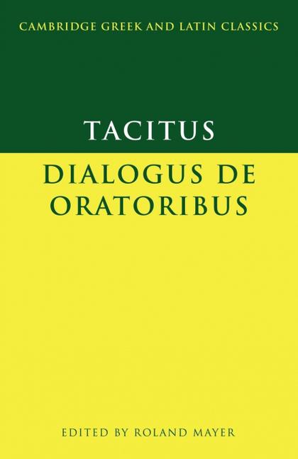 DIALOGUS DE ORATORIBUS