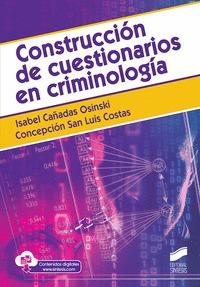 CONSTRUCCIÓN DE CUESTIONARIOS EN CRIMINOLOGÍA