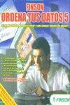 ORDENA TUS DATOS 5 CD-ROM