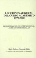 LA INVESTIGACIÓN CIENTÍFICA ESPAÑOLA EN EL CRUCE FINISECULAR