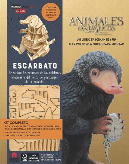 INCREDIBUILDS ANIMALES FANTÁSTICOS ESCARBATO