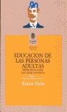 EDUCACION PERSONAS ADULTAS
