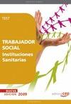 TRABAJADOR SOCIAL INSTITUCIONES SANITARIAS. TEST.