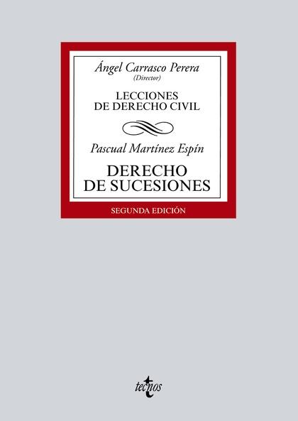 DERECHO DE SUCESIONES. LECCIONES DE DERECHO CIVIL