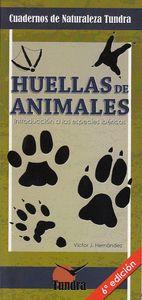 4.HUELLAS DE ANIMALES.(CUADERNOS DE NATURALEZA).