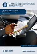Aplicaciones informáticas de hojas de cálculo. ADGD0308