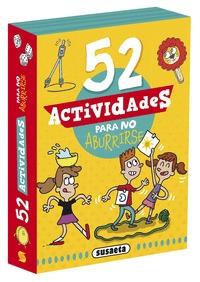 52 ACTIVIDADES PARA NO ABURRIRSE.
