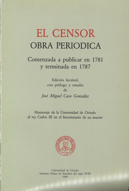 CENSOR, OBRA PERIÓDICA, EL