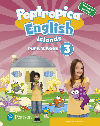 POPTROPICA ENGLISH ISLANDS 3 PUPIL´S BOOK ANDALUSIA + 1 CODE.
