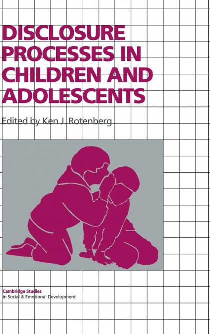DISCLOSURE PROCESSES IN CHILDREN AND ADOLESCENTS