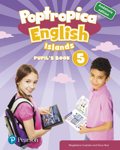 POPTROPICA ENGLISH ISLANDS 5 PUPIL´S BOOK ANDALUSIA + 1 CODE.