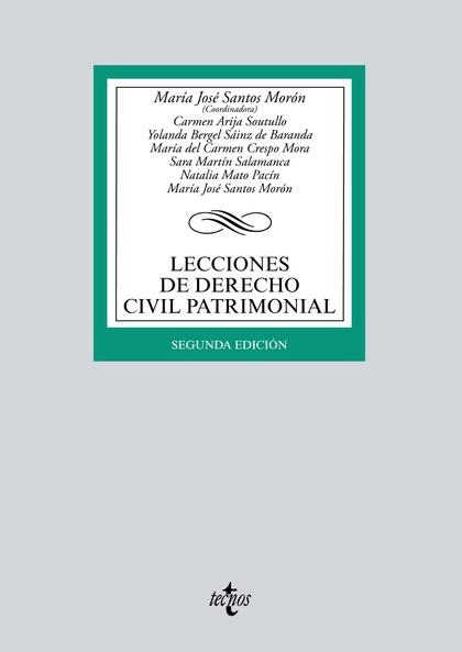 LECCIONES DE DERECHO CIVIL PATRIMONIAL.