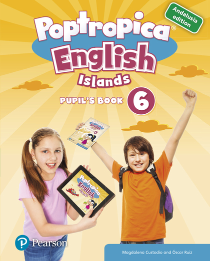 POPTROPICA ENGLISH ISLANDS 6 PUPIL´S BOOK ANDALUSIA + 1 CODE.