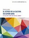 INFORME SOBRE EL ESTADO DE LA CULTURA EN ESPAÑA 2015