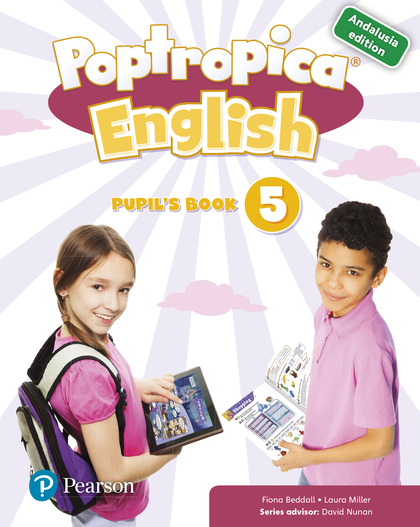 POPTROPICA ENGLISH 5 PUPIL´S BOOK ANDALUSIA + 1 CODE.