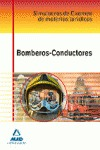 BOMBEROS-CONDUCTORES. SIMULACROS DE EXAMEN DE MATERIAS JURÍDICAS