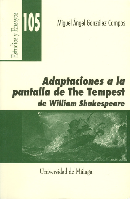 ADAPTACIONES A LA PANTALLA DE THE TEMPEST DE WILLIAM SHAKESPEARE