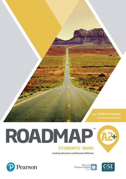 ROADMAP A2+ STUDENTS BOOK WITH ONLINE PRACTICE, DIGITAL RESOURCES & APP  PACK