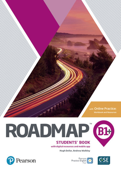 ROADMAP B1+ STUDENTS BOOK WITH ONLINE PRACTICE, DIGITAL RESOURCES & APP  PACK