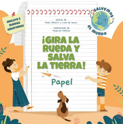 ¡GIRA LA RUEDA Y SALVA LA TIERRA PAPEL! (VVKIDS.