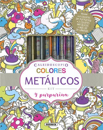 COLORES METALICOS Y PURPURINA