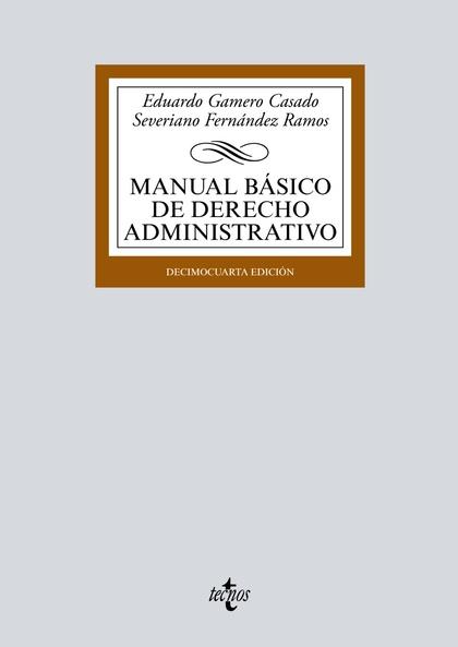 MANUAL BÁSICO DE DERECHO ADMINISTRATIVO.