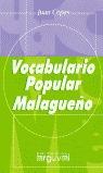 VOCABULARIO POPULAR MALAGUEÑO