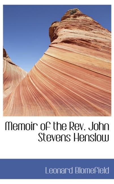 Memoir of the Rev. John Stevens Henslow