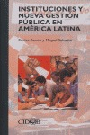 INSTITUCIONES Y NUEVA GESTIÓN PÚBLICA EN AMÉRICA LATINA