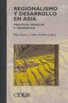 REGIONALISMO Y DESARROLLO EN ASIA