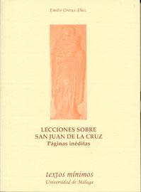 LECCIONES SOBRE SAN JUAN DE LA CRUZ