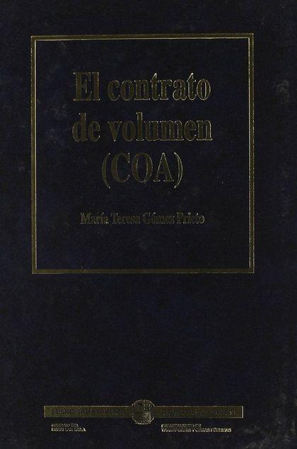 EL CONTRATO DE VOLUMEN (COA)