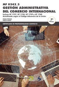 MF 0242_3_GESTIÓN ADMINISTRATIVA DEL COMERCIO INTERNACIONAL.
