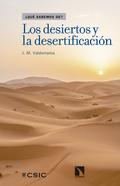 LOS DESIERTOS Y LA DESERTIFICACIÓN.