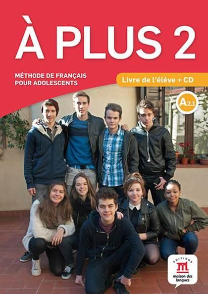 A PLUS 2 LIVRE DE LELEVE CD.