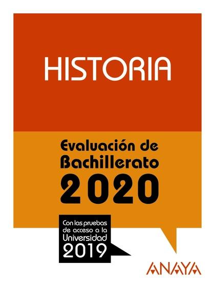 SELECTIVIDAD HISTORIA 2020.