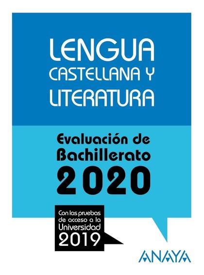 SELECTIVIDAD LENGUA CASTELLANA 2020.
