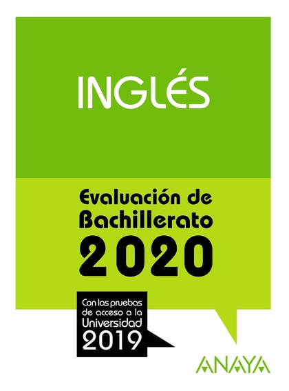 SELECTIVIDAD INGLES 2020.