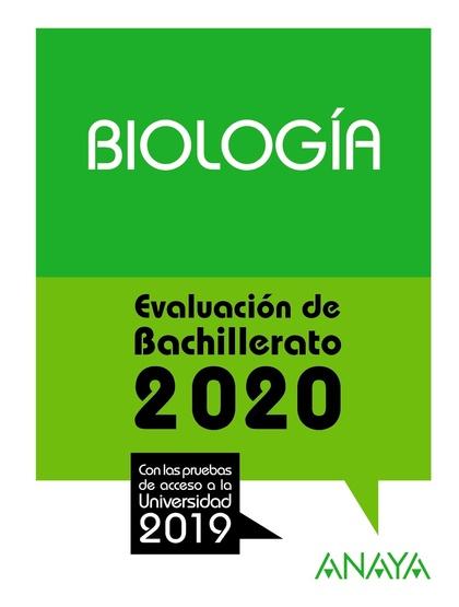 SELECTIVIDAD BIOLOGIA 2020.