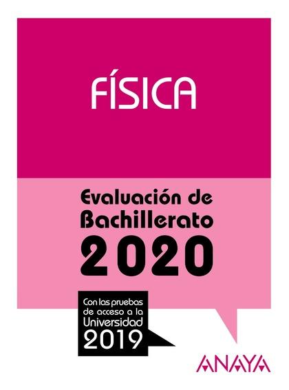 SELECTIVIDAD FISICA 2020.