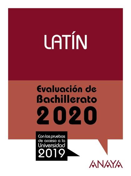 SELECTIVIDAD LATIN 2020.