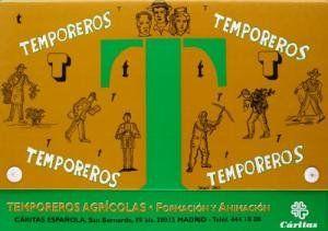 TEMPOREROS AGRÍCOLAS : CARPETA DE FORMACIÓN Y ANIMACIÓN