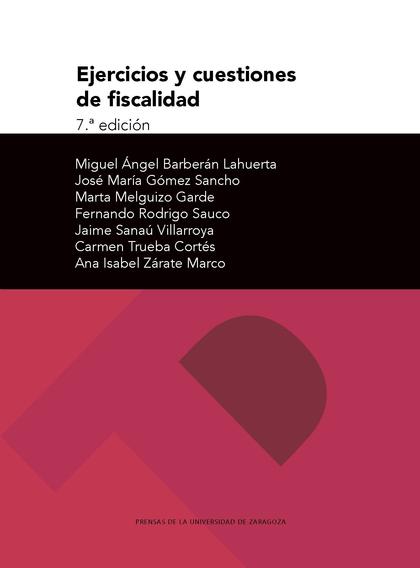 EJERCICIOS Y CUESTIONES DE FISCALIDAD