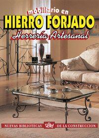 MOBILIARIO EN HIERRO FORJADO
