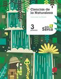 SD PROFESOR. CIENCIAS DE LA NATURALEZA. 3 PRIMARIA. MÁS SAVIA. MADRID.