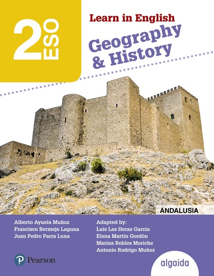 LEARN IN ENGLISH GEOGRAPHY & HISTORY, 2 ESO, LIBRO DEL ALUMNO, ANDALUCÍA, CEUTA, MELILLA