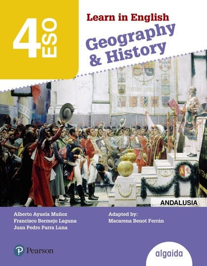 LEARN IN ENGLISH GEOGRAPHY & HISTORY, 4 ESO, LIBRO DEL ALUMNO, ANDALUCÍA, CEUTA, MELILLA