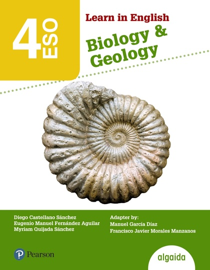 LEARN IN ENGLISH BIOLOGY & GEOLOGY, 4 ESO, LIBRO DEL ALUMNO, ANDALUCÍA, CEUTA, MELILLA